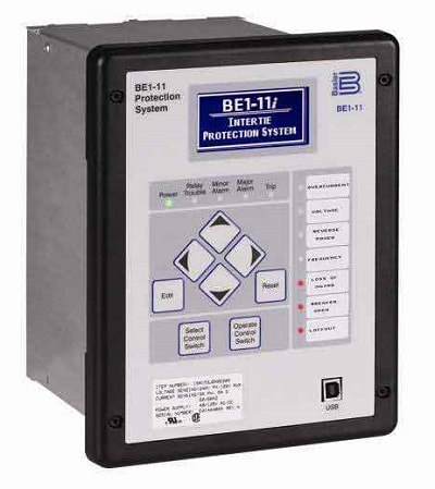 Basler BE1-11i Solar Zero Export Protection Relay