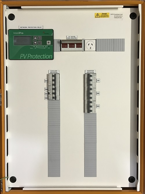 30kW Solar Protection Relay MainsPro IntelliPro Relay